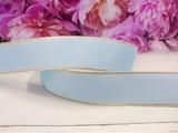 Репсовая лента с люрексом цв. голубой 25 мм.