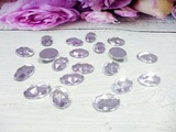 Кабошоны цв. серебро 10х14 мм. (20 шт.)