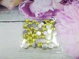 Стразы цв. желтый D 8мм.(50 шт.)