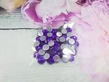 Стразы цв. фиолетовый D 8мм.(50 шт.)
