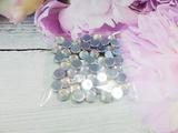 Стразы цв. серебро с перламутровым покрытием D 8мм.(50 шт.)