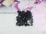 Стразы цв. черный D 8мм.(50 шт.)