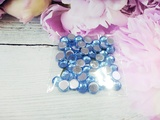 Стразы цв. голубой D 8мм.(50 шт.)