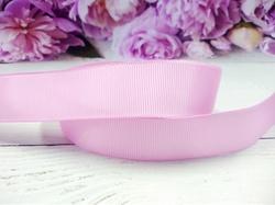 Репсовая лента цв. розовый 25 мм.