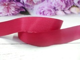 Репсовая лента цв. темно-красный 25 мм.