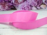 Репсовая лента цв. ярко-розовый 25 мм.