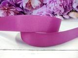 Репсовая лента цв. пурпурно-сиреневый 25 мм.