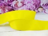 Репсовая лента цв. ярко-желтый 40 мм.