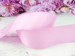 Репсовая лента цв. розовый 40 мм.