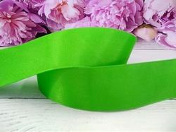 Репсовая лента цв. зеленый 40 мм.