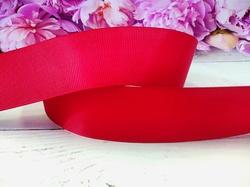 Репсовая лента цв. темно-красный 40 мм.