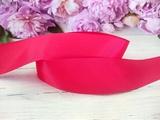 Репсовая лента цв. красный 40 мм.
