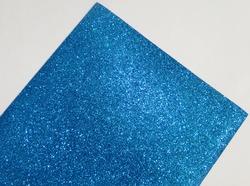 Фоамиран с глиттером цв. светло-синий