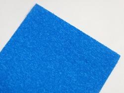 Фоамиран махровый цв. голубой