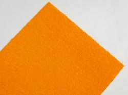 Фоамиран махровый цв. оранжевый