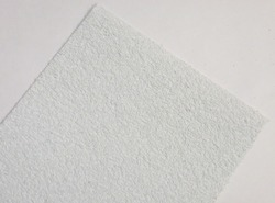 Фоамиран махровый цв. белый