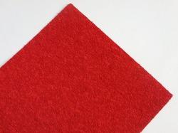 Фоамиран махровый цв. красный