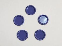 Крышечка для бантика цв. фиолетовый D 25 мм.(внутр.)