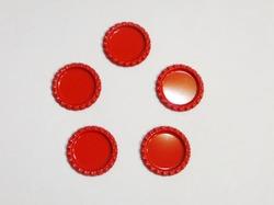 Крышечка для бантика цв. красный D 25 мм.(внутр.)