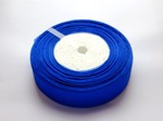 Лента из органзы цв. синий 25мм