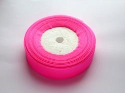 Лента из органзы цв. ярко-розовый 25 мм.