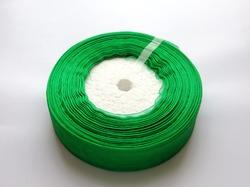 Лента из органзы цв. зеленый 25 мм.