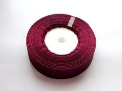 Лента из органзы цв. винный 25 мм. (5 м.)