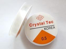 Эластичная нить 0,5 мм. (19 м.)