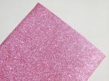 Фоамиран с глиттером цв. светло-розовый