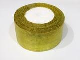 Металлизированная лента цв. золото 50 мм.