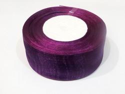 Лента из органзы цв. фиолетовый 40 мм.(5м.)