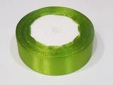 Атласная лента цв. оливковый 25 мм.
