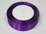 Атласная лента цв. фиолетовый 25 мм.