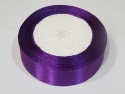 Атласная лента цв. фиолетовый 25 мм.(1м.)