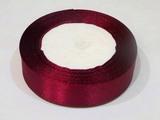 Атласная лента цв. винный 25 мм.(1м.)