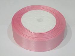 Атласная лента цв. розовый 25 мм.