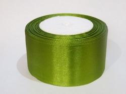 Атласная лента цв. оливковый 50 мм.(1м.)