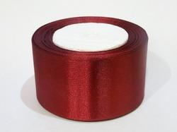 Атласная лента цв. бордовый 50 мм.(1 м.)