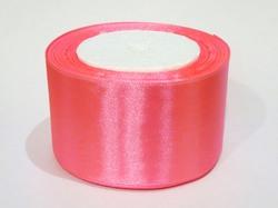 Атласная лента цв. ярко-розовый 50 мм.(1м.)