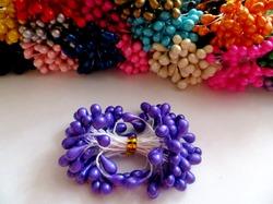 Тычинки цв. фиолетовый 5мм. (50 шт.)