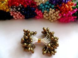 Тычинки цв. золото 5мм. (50 шт.)