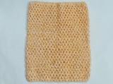 Топ - основа для платьев tutu цв. персиковый 23х20 см.