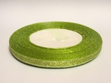 Металлизированная лента цв. оливковый 6 мм.