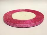 Металлизированная лента цв. малиновый 6 мм.