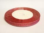 Металлизированная лента цв. светло-красный 10 мм.