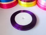 Атласная лента цв. темно-фиолетовый 6мм.
