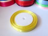 Атласная лента цв. светло-желтый 10мм