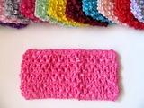 Повязка-основа цв. темно-розовый 7х15 см.