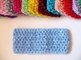 Повязка-основа цв. светло-синий 7х15 см.