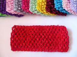 Повязка-основа цв. красный 7х15 см.